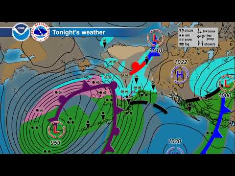 October 24, 2017 Alaska Weather Daily Briefing