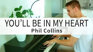 Phil collins - you'll be in my heart (tarzan) (samlight piano cover)