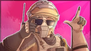 Basically CHEATING in Operation Burnt Horizon | Rainbow Six Siege
