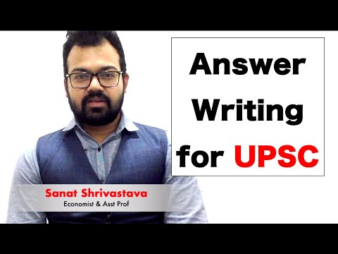 Important Points in Answer Writing for UPSC | Economics Optional | Mains GS | Indian Eco Service