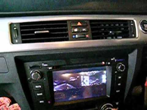 KARAKO testing Touch-screen DVD/GPS BMW E93 M Sport Version