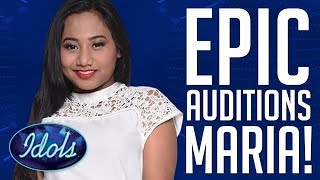 EPIC Performances by MARIA On Indonesian Idol 2018