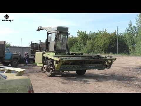 Е 281 «Марал 125»  Легендарный комбайн советских времен