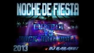 CUMBIA VS ROCK & ROLL MIX exitos