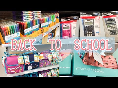 WALMART BACK TO SCHOOL SUPPLIES | SHOP WITH ME