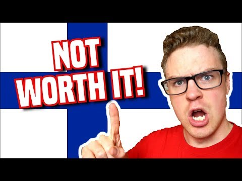 DON'T MOVE TO FINLAND! - 8 Reasons Why Life in Finland is MI