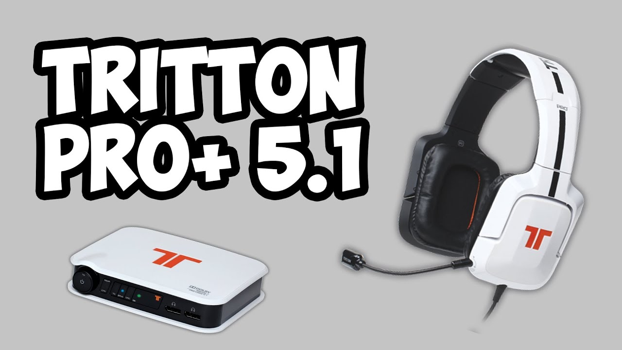 9ef2a858d76 TRITTON Pro+ 5.1 Surround Headset Unboxing - YouTube