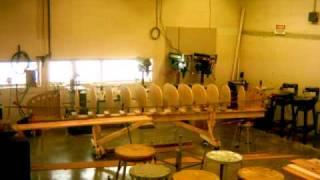 Clio High School Wood Shop Canoe Project Video 1
