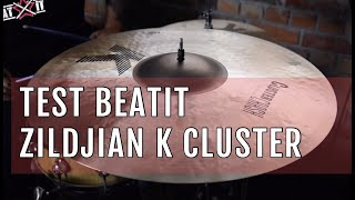 BeatIt Test: Zildjian K Cluster Crashes