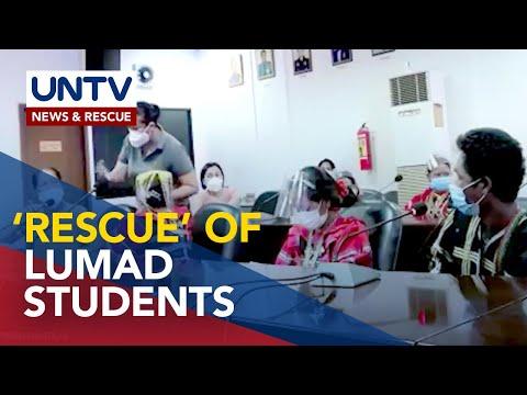 7 indibidwal na inaresto sa Lumad rescue operation sa Cebu City, kinasuhan na