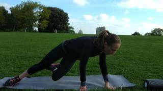 Glute exercises  for running