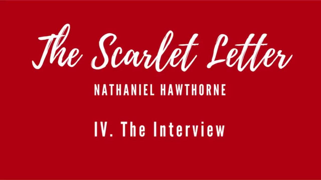 Scarlet Letter   Chapter 4   YouTube