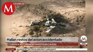 Esto es lo que se sabe del avión que cayó en Coahuila