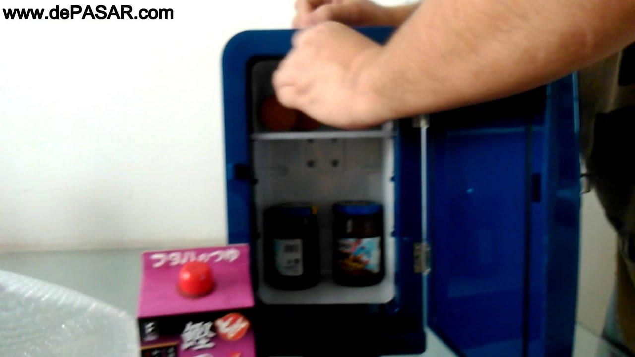 Kulkas Lemari Es Mobil Kecil Mini Portabel Mobicool F05 Hot Cool Car Refrigerator Portable Simpan Minuman Dingin