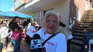 Con gran éxito Lic. Marina Calderón realiza Mega Jornada de Sercivios en Tecate