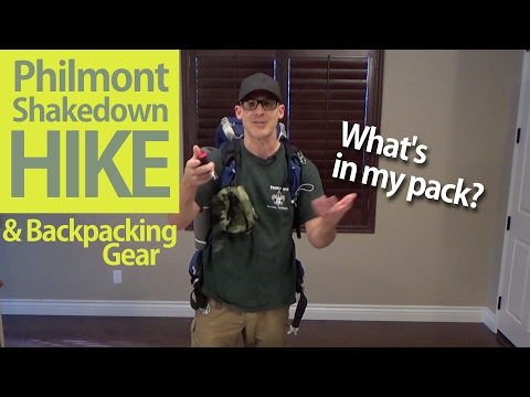 Philmont - Shakedown Hike & Backpacking Gear