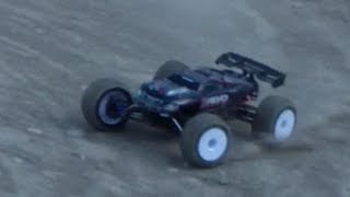 Traxxas E-Revo Brushless tuned for the track