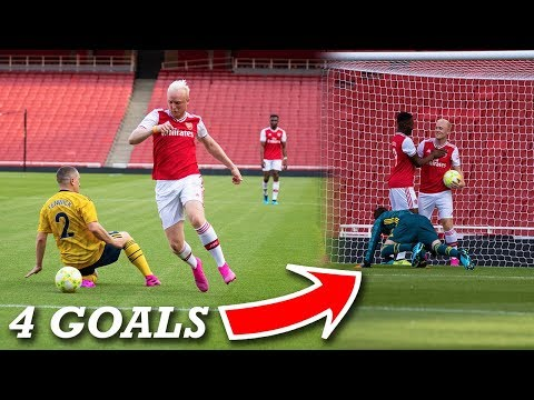 SCORING 4 GOALS AT THE EMIRATES FOR ARSENAL!!
