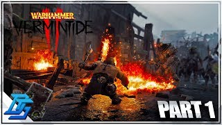LEFT 4 DEAD MEETS FANTASY MEDIEVAL GAME - Warhammer Vermintide 2 Gameplay - Pt.1 (Closed Beta)