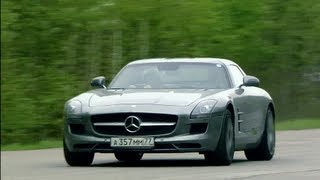 Mercedes-Benz SLS AMG vs BMW M6 vs Audi RS6 Evotech