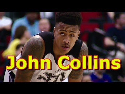 "John Collins ""Atlanta Hawks"" Mix HD / Offensive And Defensive Highlights 2018 NBA"