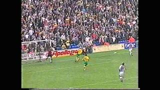 1999-2000 West Bromwich Albion v Norwich
