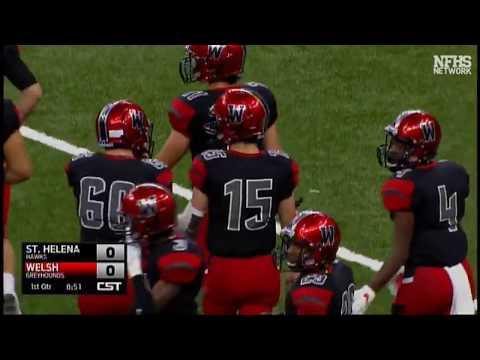Welsh Greyhounds vs St. Helena Hawks 2017 Louisiana 2A Football Championship