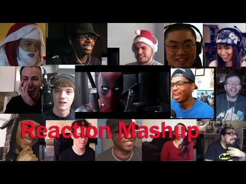Deadpool   Red Band Trailer 2  REACTION MASHUP!!