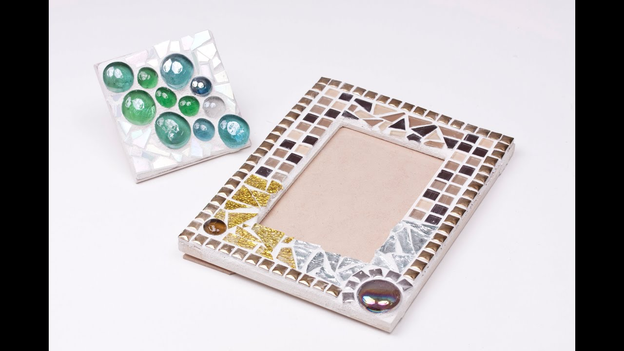 Zart art mosaics frame and tile youtube dailygadgetfo Gallery