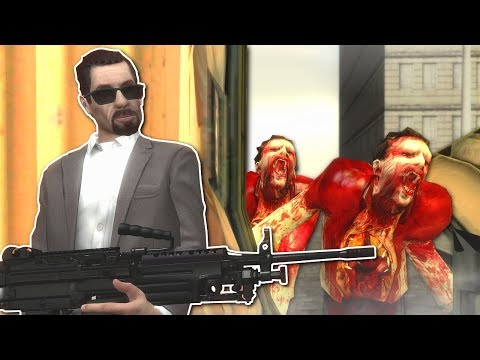 SURVIVAL IN ZOMBIE FILLED CITY! - Garry's Mod Gameplay - Gmod Zombie Survival