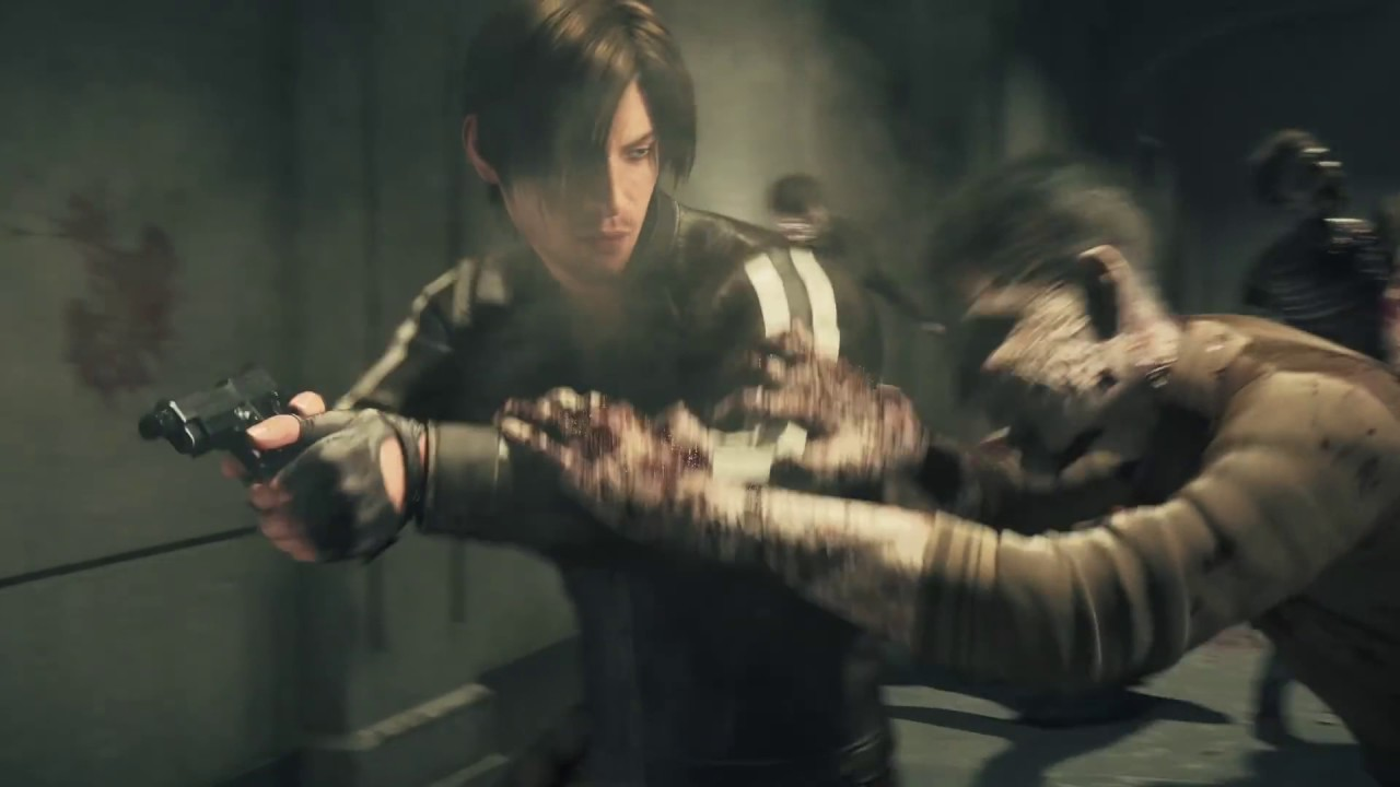 Resident Evil Vendetta Cg Movie Clip Leon Is Killing Zombies