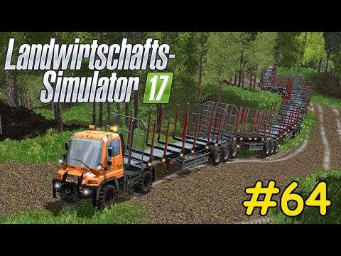 Let's Play LS17 Forstwirtschaft Teil 64 - NEUES XXXL ANHÄNGER PROJEKT STARTET | Liongamer1