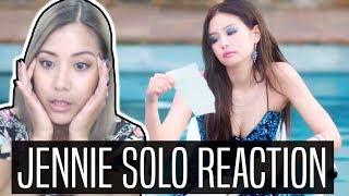 JENNIE SOLO MV REACTION (블랙핑크)
