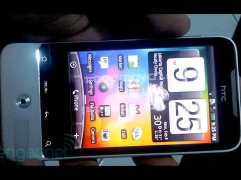 HTC Legend Leaked!