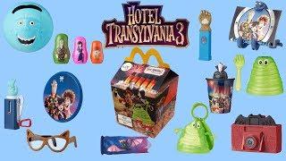 2018 HOTEL TRANSYLVANIA 3 HAPPY MEAL TOYS