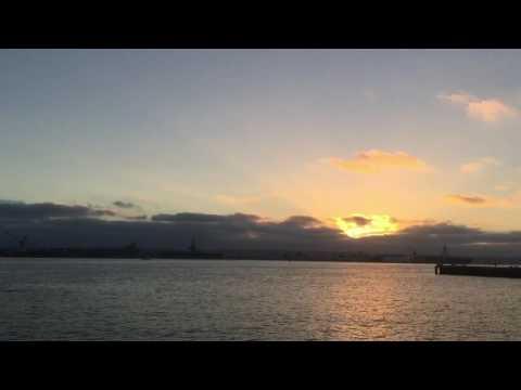 Sunset at Seaport Village