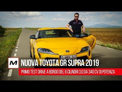 Nuova Toyota GR Supra 2019 | Test drive in anteprima su strada e sul circuito di Jarama