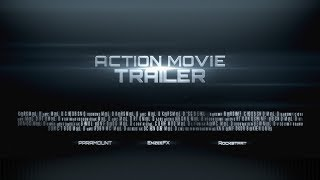 Free After Effects Intro Template #304 : Action Trailer Titles Template for After Effects
