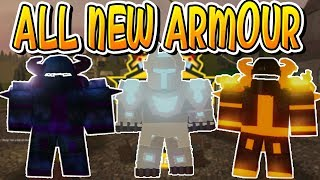 ALL NEW ARMOUR IN PIRATE ISLAND DUNGEON QUEST!!! (Roblox)