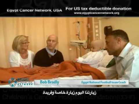 Bob Bradly, Egypt Cancer Network 57357, USA
