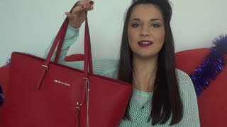 Whats in my Bag Tag - Michael Kors Jet Set Travel Tote