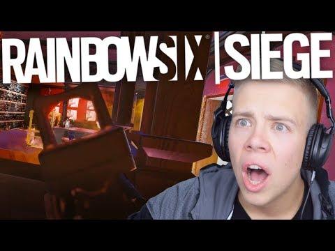 ER SCHIEßT EINFACH DURCH DIE WAND😱  - Rainbow Six Siege