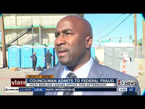 Las Vegas Councilman Barlow busted on campaign fraud