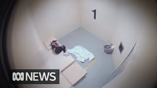 Cctv Footage Of Tanya Day Hitting Head In Police Cell Released   Abc News