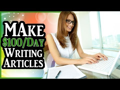 How To Make $100 Per Day Writing Articles [STRATEGY REVEALED]