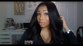 WOWAFRICAN Yaki Brazilian Silk Top Lace Wig Review