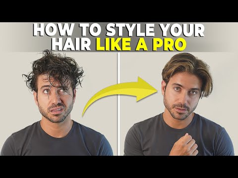 how-to-style-your-hair-properly-|-medium-length-men's-hairstyle-tutorial
