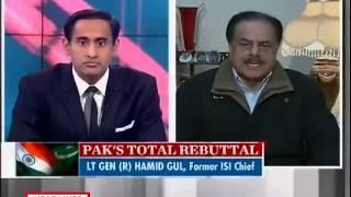 Former ISI chief Hamid Gul's brazen denial, says India