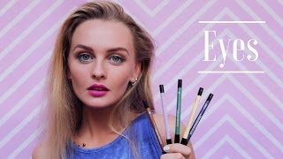 Как нарисовать цветные СТРЕЛКИ? Любимые карандаши-подводки(Как нарисовать яркие цветные стрелки и чем? В этом видео поделюсь с вами своими любимыми карандашами-подвод..., 2016-08-22T10:31:52.000Z)