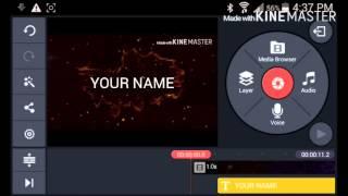 KineMaster Text Beat Tutorial!